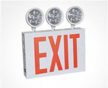 Wall mounting Approved LED Exit Light white powder coated finish
